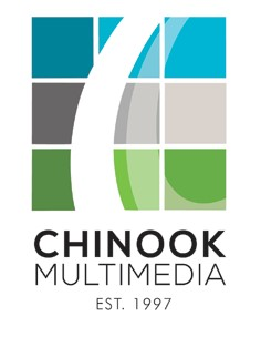 Chinook Multimedia logo,, Edmonton web design company
