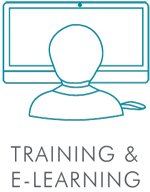 Training and E-learning Icon