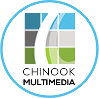 Chinook Multimedia logo for updates on web design, e-learning, writing, and graphic design projects