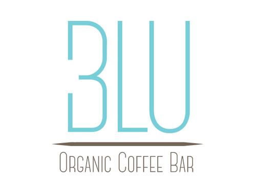 Draft 3 Blu Organic Coffee Logo