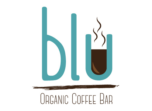 Draft 4 Blu Organic Coffee Logo